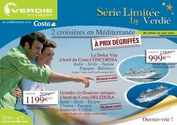 999€ 1199€ - Verdié Voyages
