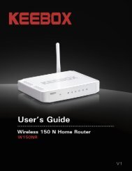 KEEBOX Wireless 11n Router