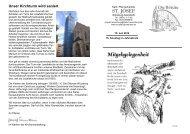 Unser Kirchturm wird saniert - St. Josef - Grombühl