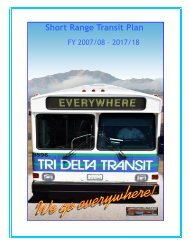 to view Short Range Transit Plan FY 2007/2008 - Tri Delta Transit