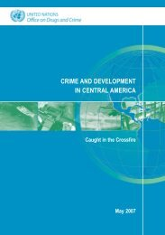 Crime and Development in Central America - United Nations Office ...