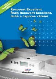 Katalog větrání – větrací jednotka Renovent Excellent - Štorc
