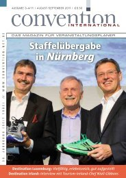 Das komplette Magazin - Convention-International