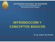 Introducción y Conceptos Básicos a la Mecánica de Suelos