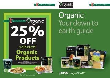 Organic - Tesco