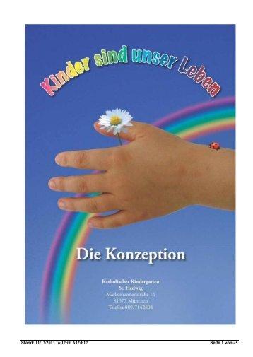 Konzept (PDF-Datei, Stand: Nov. 2013) - Sankt Hedwig