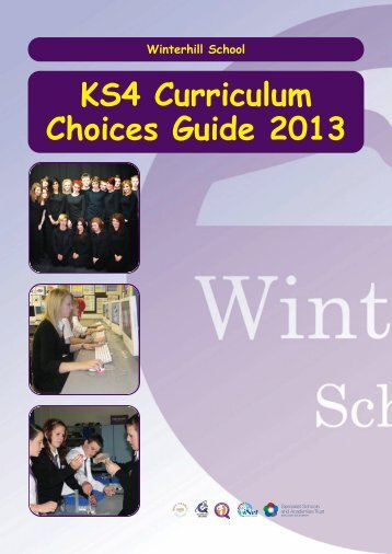 Curriculum choices booklet - Winterhill School
