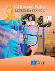 Download File - Roswell Park Cancer Institute