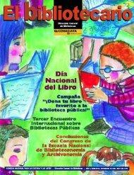 nov - Dirección General de Bibliotecas - Consejo Nacional para la ...