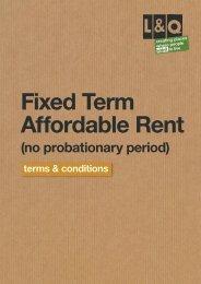 (no probationary period) - London & Quadrant Group