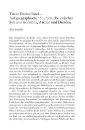 Tatort Deutschland – Auf geographischer Spurensuche zwischen ...