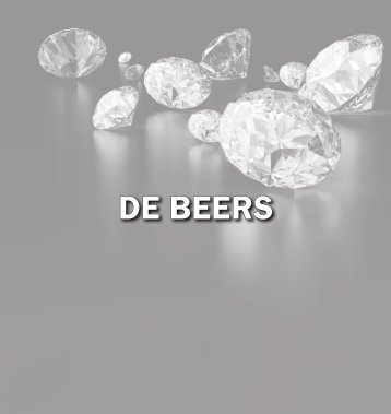 DE BEERS - The International Resource Journal