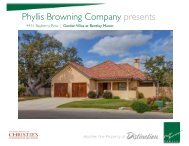 Phyllis Browning Company presents