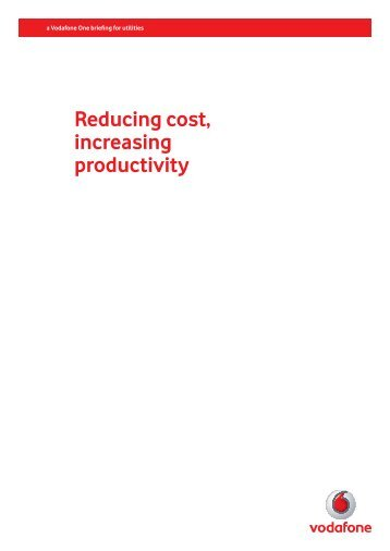 bglobal and vodafone deliver cost and carbon savings  - vodacom, Presentation templates