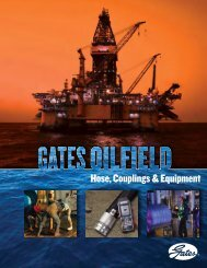 Download Oil Field Catalog - Gates Corporation
