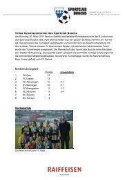 Schlussbericht (PDF) - SC Buochs