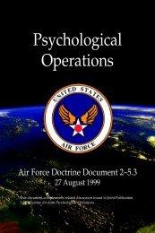 Afdd 2-5-3 psychological operations