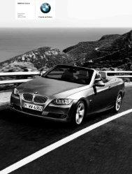 Freude am Fahren BMW 3er Cabrio Preisliste Stand ... - bmwarchiv.de