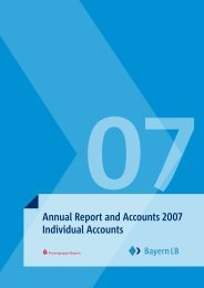 Annual Report and Accounts 2007 Individual Accounts