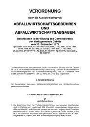 Abfallwirtschafts-Verordnung (524 KB) - .PDF - Gablitz