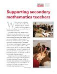 NebraskaMATH Report - Center for Science, Mathematics ... - Page 5