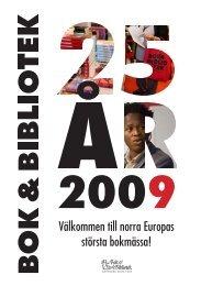 Välkommen till norra Europas största bokmässa! - Bok & Bibliotek
