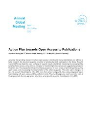 Action Plan towards Open Access to Publications - DFG