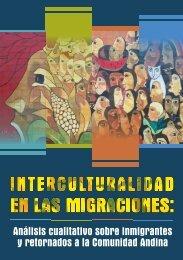 Interculturalidad en las migraciones. - Observatorio de Migraciones