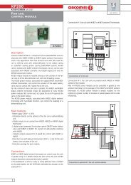 kf200 - fan coil control module 0269en - Giacomini SpA