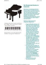 Klavier - musiktipp.ch