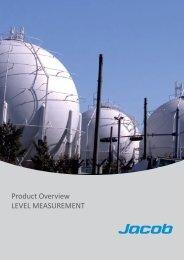 Product Overview LEVEL MEASUREMENT - Jacob GmbH