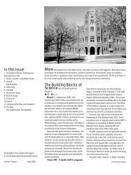 B Magazine Volume 3 Issue 1 - Biological and Biomedical Sciences ...