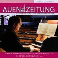 Die aktuelle Auen-Zeitung zum Herunterladen! - Auenkirche Berlin ...