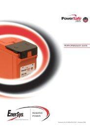 EN-SBS-EON-PD-001 - Enersys - EMEA