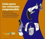 Guía para un consumo responsable. - E-CONS