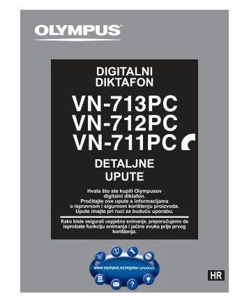 DETALJNE UPUTE DIGITALNI DIKTAFON - Olympus