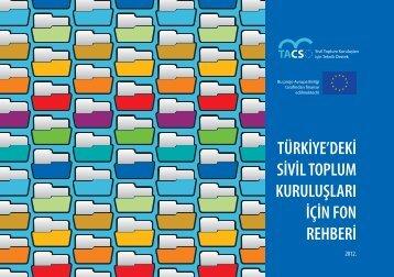 türkiye'deki sivil toplum kuruluşları için fon rehberi