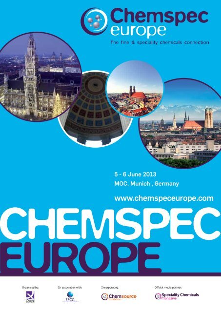 chemspec europe - Chemspec Events