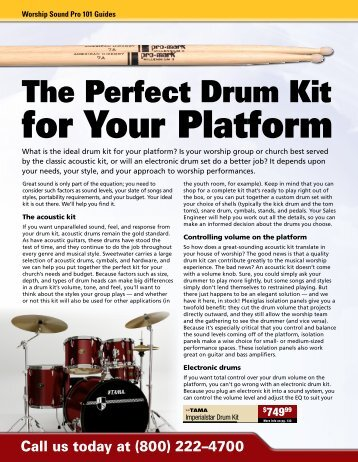 The Perfect Drum Kit for Your Platform - medialink