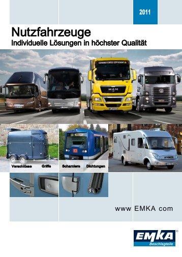Nutzfahrzeuge - EMKA Beschlagteile Gmbh & Co. KG