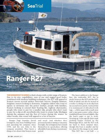 Ranger R27 - Ranger Tugs