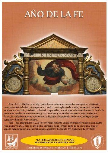 + Especial noviembre - Año de la fe II