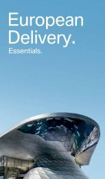European Delivery Essentials Explore all of the Joy - BMW Canada