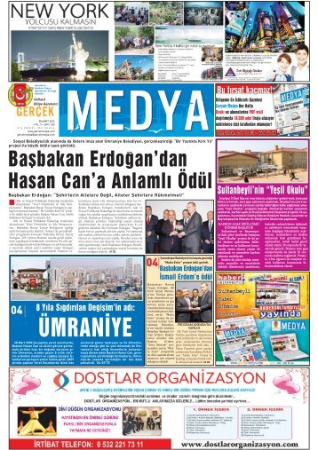 ÜMRANİYE - gerçek medya gazetesi