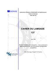 Preliminary version - Lamsade