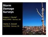 Tornado Damage Surveys - Oswego