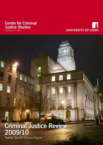 Perceptions of Security and Reassurance at the ... - School of Law