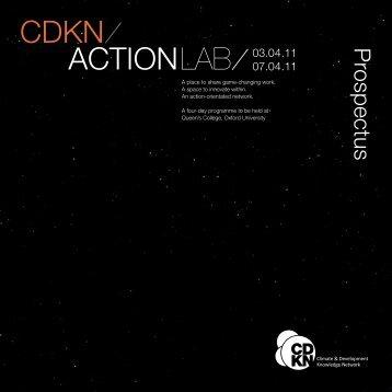 ACTIONLAB 03.04.11 - CDKN Global