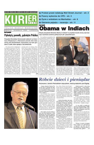 Obama w Indiach - Kurier Plus