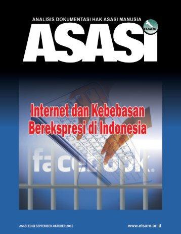 Buletin Asasi Edisi September-Oktober 2012 - Elsam